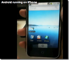 [News] Android sur un iphone, c'est possible !