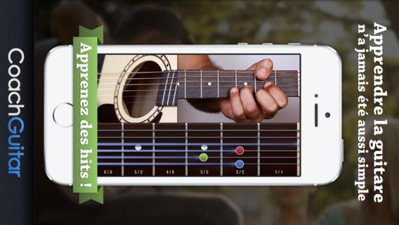 comment apprendre la guitare facilement avec votre iphone ou ipad appiphone applications et. Black Bedroom Furniture Sets. Home Design Ideas